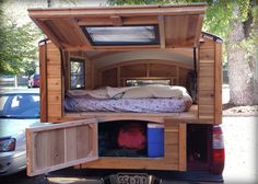 wood campershell