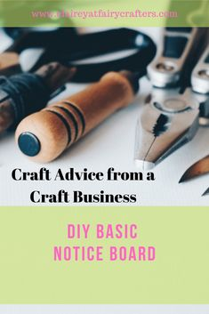 A how to guide to make your very own notice board to brighted you wall and get organised #noticeboard #DIY #crafting Business Goals, Business Advice, Online Business, Business Education, Business Management, Business Branding, Decoupage Letters, 7 Places, Craft Online