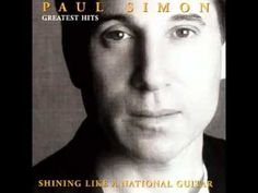 """Paul Simon - """"The Boy in the Bubble"""" ...with the great African musician Forere Motloheloa...great fusion of African and US music"""