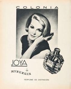 Joya Myrurgia. 1950