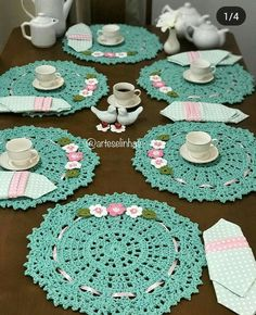 1 million+ Stunning Free Images to Use Anywhere Crochet Doily Rug, Crochet Placemats, Crochet Coaster Pattern, Crochet Dollies, Crochet Table Runner, Crochet Home, Thread Crochet, Love Crochet, Crochet Crafts