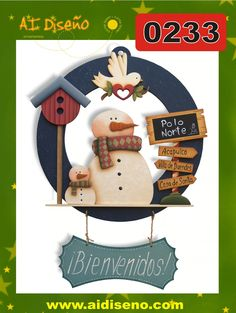 Navidad 2014 | maderacountry.mx Christmas Wood Crafts, Snowman Crafts, Country Christmas, Christmas Projects, Christmas Time, Xmas, Christmas Ornaments, Pintura Country, Arte Country