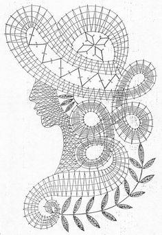 Фото: Crochet Diagram, Crochet Chart, Crochet Motif, Crochet Lace, Free Crochet, Crochet Patterns, Russian Crochet, Irish Crochet, Bruges Lace