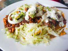 #Bronx Eats: Chilaquiles for Breakfast at La Morada, the Bronx's First Oaxacan Restaurant