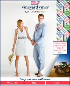 """Kentucky Derby """"official"""" fashions for ladies & gents!"""