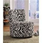 Zebra Print Bedroom Accessories -