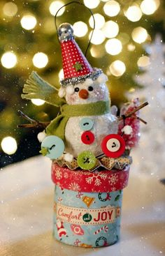 santa claus / more snowmen