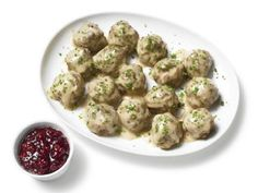 Almost-Famous Swedish Meatballs Recipe : Food Network Kitchen : Food Network