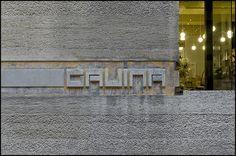 Carlo Scarpa @ Gavina Showroom - Bologna [1961-1963] #9 by d.teil, via Flickr