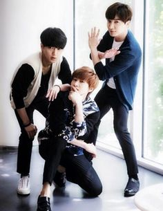 Yesung, Eunhyuk, Leeteuk - yaas!