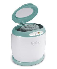 Take a look at this Teal Towel Warmer by Baby's Journey on #zulily today!