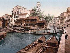 Rio di San Trovaso, Venice, Italy 1890 - 1900