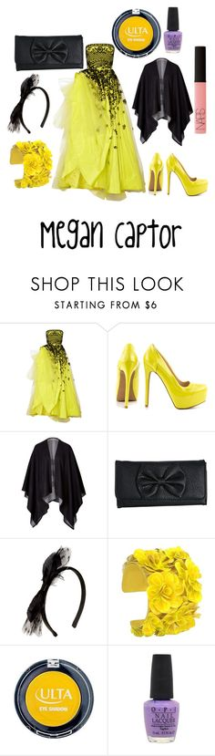 """""""Promstuck - Mituna Captor"""" by lightsend ❤ liked on Polyvore featuring Oscar de la Renta, Qupid, Burberry, Wet Seal, RED Valentino, Forest of Chintz, OPI and NARS Cosmetics"""