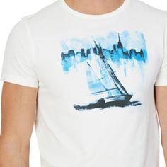 NAUTICA | Slim Fit Graphic T-Shirt - Marshmallow | #vermontfashion