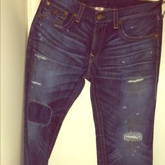 True religion jeans Worn only once.... Men's Jeans Boot Cut