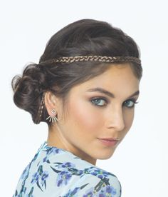 """Revlon Braided Headband Headbands are back! This braided addition will set a trend at any event. Braided headband with elastic Available in the following widths - 1/4"""", 1/2"""" and 3/4"""""""