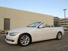 BMW 3 Series 328i 2013 CONVERTIBLE NAVIGATION ONLY 10K MILES PEARL WHITE