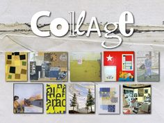 Intro to Collage. A slideshow of collage examples, with emphasis on Matisse, Romare Bearden and Eric Carle. Collages, Romare Bearden, Art Assignments, Middle School Art, High School, Collage Techniques, Homemade Art, Collage Art Mixed Media, Art Curriculum