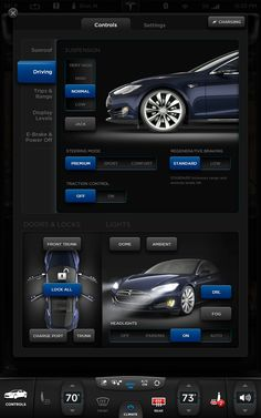 "Tesla Model S 17"" Touchscreen - Killahgrafikz™ 