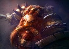 Dwarf Beserker by mattforsyth
