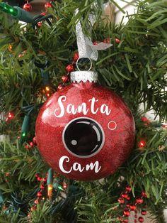 Santa Cam Ornament Santa Spy Camera Christmas by BallyandLis