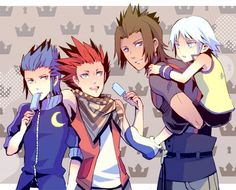 Tags: Anime, Kingdom Hearts, Riku, Pixiv, Kingdom Hearts: Birth by Sleep