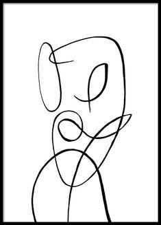 Female Forms No2 Plakat