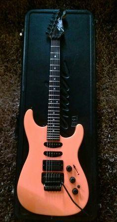 FENDER HM Strat Vintage 1989 USA Electric Guitar RARE COLOR