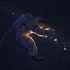 Just Space Stuff Space Illustration, Interstellar, Art Graphique, Galaxy Wallpaper, Sci Fi Art, Graphic, Aliens, Cosmos, Fantasy Art