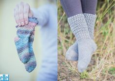 Crochet Socks  Brand: Elle Count: 4ply Yarn: Sock Wool Yarn has been discontinued – another 4ply yarn can be used as a substitute Size From: Children Size To: Ladies