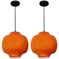 Italian Cased Glass Pendants   From a unique collection of antique and modern chandeliers and pendants  at http://www.1stdibs.com/furniture/lighting/chandeliers-pendant-lights/