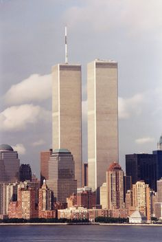 The Twin Towers. The NY skyline has never been the same. For all those who lost their lives that day, we miss you.
