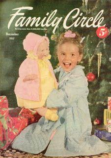 Vintage Christmas Magazine ~ Family Circle ©December, 1952