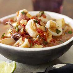 Peruvian Fish Soup.