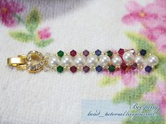 Tutorial : Crystal Bracelet #14 Level : Beginner Another easy bracelet. Enjoy! The design is from Thai Crystal Magazine. Equipment : - Swarovski Bicone Crystal 4 mm. - Swarovski Pearl 6 mm. or Swarovski Round Crystal 6 mm. - Seed Bead - Nylon Thread - Clasp Here I used watch clasp. I got it from…