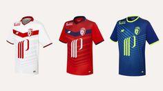 Camisas do LOSC Lille 2016-2017 New Balance