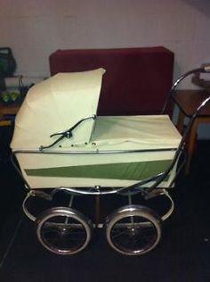 Ouderwetse kinderwagen opknapper