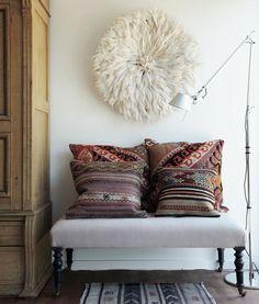Detail Collective | Interior Spaces | Modern Tribal | Image: via Bohemian Modern Emily Henson