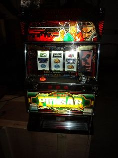 COINLESS KING PULSAR VIDEO & Reel Pachislo Slot Machine & 190 Page Manual in Collectibles, Casino, Slots | eBay