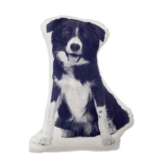 Border Collie Mini Cushion at Essentialish.com | Things you almost need
