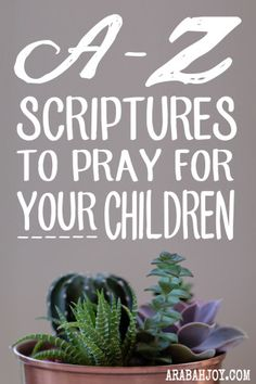 Praying Scripture for your child is easy with this scripture prayer card set.