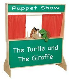"Wood Designs Deluxe Puppet Theater with Chalkboard - GREENGUARD'""® Children & Schools certified. A marquis on top and message board on the lower panel invites participation from the audience. The backside has two shelves, which can be used to store pup Kids Playroom Furniture, School Furniture, America Furniture, Marker Board, Brown Curtains, Curtain Material, Thing 1, Buy Wood, Dramatic Play"