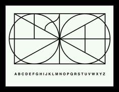 Monogram of the entire alphabet