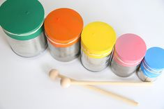 Homemade Musical Instruments, Making Musical Instruments, Instrument Craft, Diy Crafts Videos, Diy Craft Projects, Diy Crafts To Sell, Drums For Kids, Toy Cars For Kids, Toddler Crafts