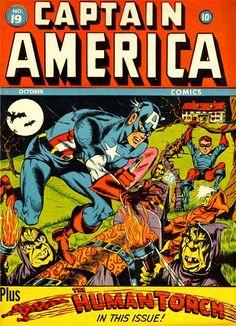 Captain America Comics # 19 by Al Avison