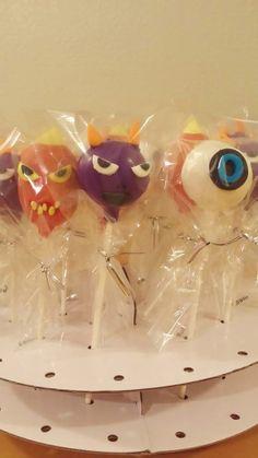 Skylanders Cake pops
