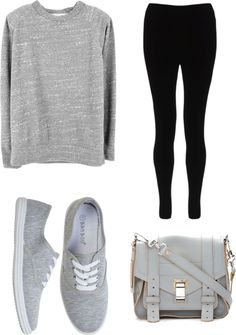 """Lazy look"" by princesscris ❤ liked on Polyvore"