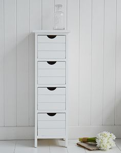 Bathroom Cabinets 30cm Wide cape cod slim bathroom cabinet front with 4 drawers 30cm wide