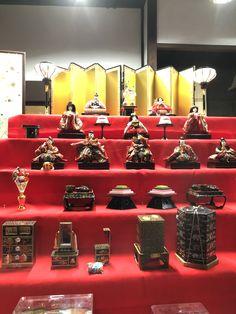 福禄壽の雛飾り