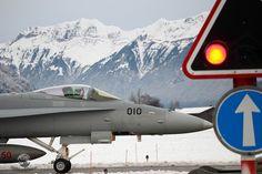 Swiss Air Force McDonnell Douglas F/A-18C Hornet J-5010